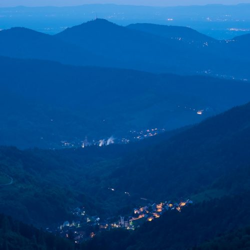 Blue Hour in the Black Forest